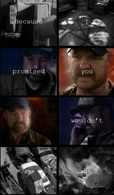 [GIFSET] Bobby Singer, you are missed.