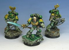 James Wappel Miniature Painting: Sons of the Morningstar color scheme...