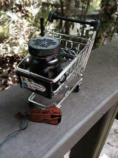 Geocache Miniature Shopping Cart | Katie Waller