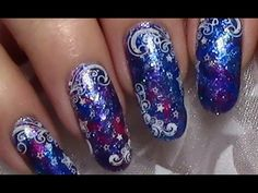 Cinderella Gradient | Nail Art Tutorial - YouTube