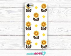 SunFlower in the Sun Hand Made Pattern  Hard Case for by MobiLove, £10.00