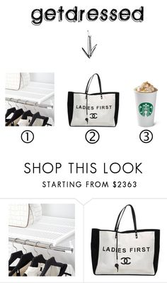 """""""meet me"""" by getdressedwithme on Polyvore featuring moda, Elfa i Chanel"""