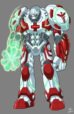 """Character """"Polarice"""" created by Cody Ramsbottom, character design commissioned by Mike D'souza philchoart.com"""