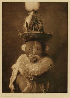 Kwakiutl and Navajo tribes. Edward S. Curtis circa 1914. by moteldemoka, via Flickr
