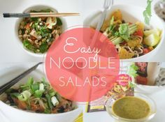 Easy Noodle Salads 3 Ways - Chicken, Beef & Mex + WIN!! - nzgirl