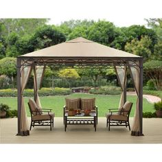 10 X 12 Regency Ii Patio Gazebo Beautiful Outdoor Canopy