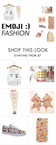 """Emoji Bound 2"" by ivieoww ❤ liked on Polyvore featuring Vlado and Casetify"
