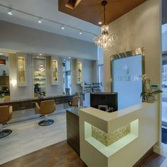 Pure Self Salon N Spa, Markham | Check out more #interior collections at salonmagazine.ca