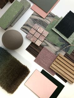 It's all about tactility, getting away from the screen and enjoy the power of touching materials, playing with layers and shapes. #moodboard