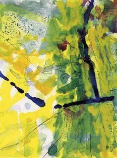 Gerhard Richter » Art » Watercolours » Tuesday (22.1.1984)