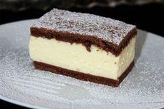 A nyár nagy slágere ez a pudingos tejfölös süti Baking Recipes, Cake Recipes, Dessert Recipes, Sweet Desserts, Sweet Recipes, Salty Cake, Hungarian Recipes, Chocolate Recipes, No Bake Cake
