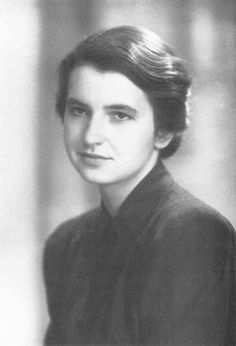 'Rosalind Franklin~the true discoverer of DNA, the first to photograph it and identify it as a double helix. She also conducted research on the polio, and tobacco mosaic viruses.'