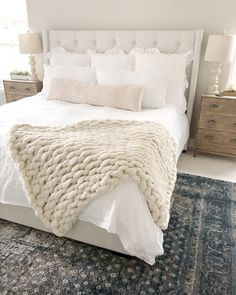 The Blooming Nest - love grows here. Small Room Bedroom, Cozy Bedroom, Bedroom Decor, Bedroom Ideas, Master Bedroom, Bedroom Simple, Guest Bedrooms, Beautiful Bedrooms, New Room