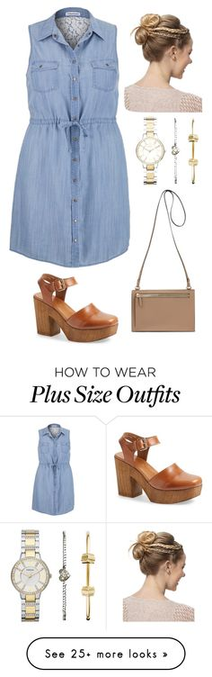 """""""back to summer #2"""" by zajana on Polyvore featuring maurices, Topshop and FOSSIL"""