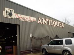 "Part 2 of my ""Must-See in Asheville"" is a little {gigantic} place just down the road from Biltmore called Tobacco Barn Antiques. And those of you who love picking will love this place. Biltmore Nc, Ashville Nc, Mountain City, Girls Getaway, Mountain Vacations, Antique Shops, Asheville, North Carolina, Places To See"