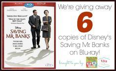 Saving Mr. Banks http://www.vivaveltoro.com/2014/03/disneys-saving-mr-banks-blu-ray-giveaway-six-winners.html