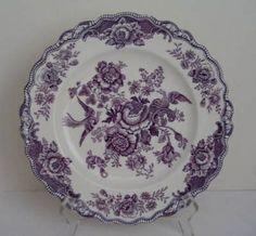 Purple Transferware | visit antiquesnavigator com