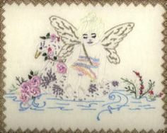 """** """"Fairy Boat""""  Brazilian Dimensional Embroidery Pattern  @jdr-be"""