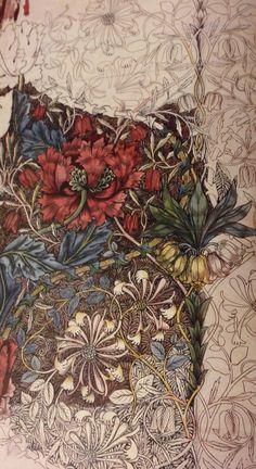 William Morris Patterns, William Morris Art, Carillons Diy, Design Art Nouveau, Birmingham Museum, Design Poster, Motif Floral, Arts And Crafts Movement, Watercolor Design