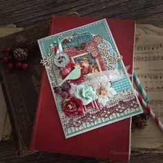 St.Nicholas and A Christmas Carol card tutorial for Graphic 45 by Aneta Matuszewska, photo 3