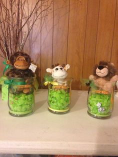 Center Pieces For Safari Baby Shower