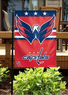 Washington Capitals Garden Flag has printed Washington Capital logos and measures 10.5x15 inches. Our Garden Flag for the Washington Capitals is officially licensed by...