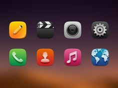 Android Launcher icons III by Ashung Hung