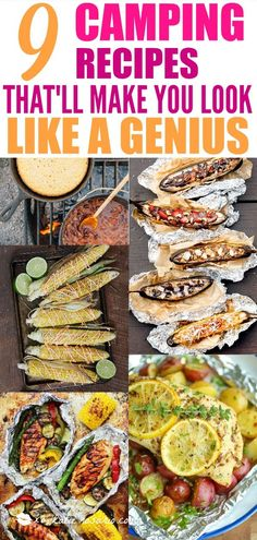 9 Camping Recipes That'll Make You Look Like A Genius | Campfire recipes don't need to be limited to just grilled chicken and corn.  The absolute best camping recipes that aren't s'mores or hot dogs. Now that's the kind of campfire food that we can get on board with. Your camping trip is about to get a lot more exciting! #campingrecipes #campefirerecipes #camping