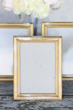 For sale is... a SET OF 4 wood frames / signs, painted & distressed and washed to look antiqued & vintage... YOU PICK THE COLOR youd like from my