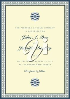 iCLIPART - Wedding Invitation Template Illustration
