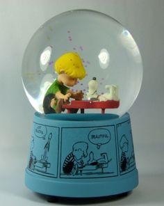 Sneeuwbol met muziek van Charlie Brown