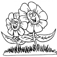 flower coloring pages for kids - Kid Colouring Games