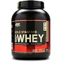 Optimum Nutrition On Gold Standard 100 Whey Protein Powder 5 Lbs 2 27 Kg Rocky Ro Optimum Nutrition Whey Optimum Nutrition Whey Protein Optimum Nutrition