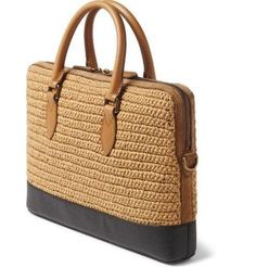 Shop men's bags at MR PORTER, the men's style destination. Crochet Tote, Crochet Handbags, Crochet Purses, Sacs Design, Diy Purse, Jute Bags, Summer Bags, Knitted Bags, Crochet Accessories