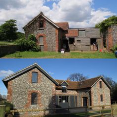 Before And After Of The Lovingly Restored Stable Cottage