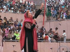 Marilyn speaking before an incredible crowd in Pakistan.  Visit our website to learn about this powerful trip!  http://www.marilynandsarah.org/trip-reports/pakistan-2012/