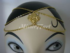 Check out the Victorian Lady Face Gold Plate Chain Circlet Headpiece headband with Diamantes  http://www.ebay.com.au/itm/Victorian-Lady-Face-Gold-Plate-Chain-Circlet-Headpiece-headband-Diamantes-/160913484039?pt=AU_Women_Accessories=item257730e907  Just A$32.95