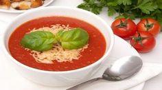 Турецкий суп с томатом и сыром