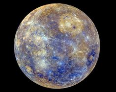 (NDJ) - Mercury, the planet located closest to our sun isn't as 'boring' as was first thought. In a video released by NASA - see below -, Mercury displays an array of colors that are fascinating to watch. NASA made the colorful short video using . Small Planet, Cosmos, Uranus, Space Photos, Our Solar System, Interstellar, Space Exploration, Science And Nature, Spirituality