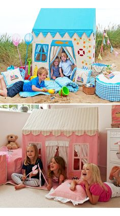 Fabric playhouses