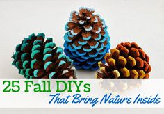 25 Fall DIYs That Bring Nature Inside | thegoodstuff