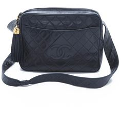 What Goes Around Comes Around Vintage Chanel Extra Large Camera Bag - Navy $3500