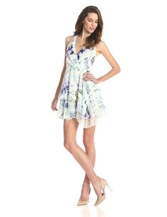 Ruffled Tiers Dress by BCBGeneration