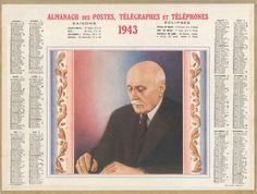 Almanach des Postes 1943