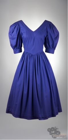 Vintage 80´s Laura Ashley Dress Size S-M - Bichovintage - Vintage & Retro & Recycled - Clothing and Accesories - Online Store
