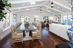 Newport Island - traditional - dining room - orange county - Blackband Design