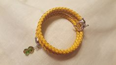 Bison Wrap Bracelet - Horns Up - NDSU Bison Colors- 2111609/2111610
