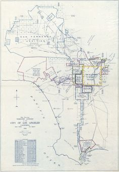 This Map Shows How L.A. Grew Into a 469-Square-Mile City