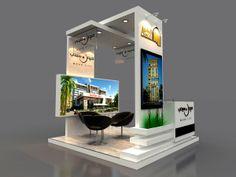 Amco Booth by Hossam Khattab, via Behance