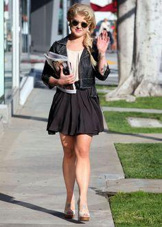 kelly osbourne style   ... La Fashion I Beauty + Life Style Blog: Kelly Osbourne's Street Style